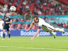 There was frustration at Wembley for Harry Kane and England (Nick Potts/PA)