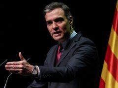 Spain's Prime Minister Pedro Sanchez (AP/Emilio Morenatti)