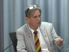 Gary Webster, a former pupil of Lord Mayor Treloar College (Infected Blood Inquiry/PA)