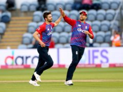 Mark Wood (left) impressed for England (David Davies/PA)