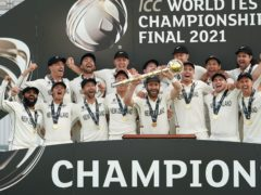 New Zealand became Test champions (Adam Davy/PA)