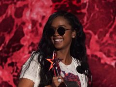 Singer-songwriter H.E.R. was among the winners at the BET Awards (AP Photo/Chris Pizzello)