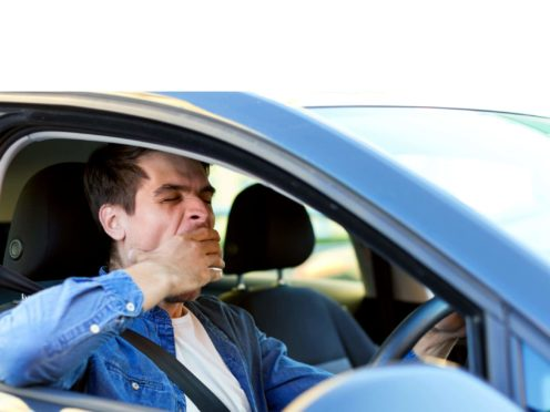 Millions of motorists could be falling asleep at the wheel