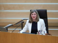 New Holyrood Presiding Officer Alison Johnstone ahs said she wants Holyrood to be a 'real exemplar' in the fight against climate change. (Russell Cheyne/PA Wire)