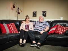 Linda and Pete McGarry (Channel 4/PA)