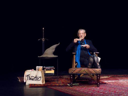 Sir Ian McKellen On Stage (Frederic Aranda/PA)