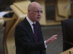Deputy First Minister John Swinney said significant progress had been made in setting up the redress scheme (Fraser Bremner/Scottish Daily Mail/PA)