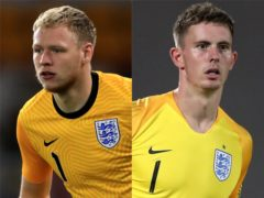 Aaron Ramsdale has replaced Dean Henderson in England's squad (PA)
