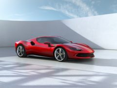 The 296 GT revives the V6 engine in a Ferrari
