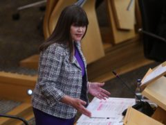 Children's minister Clare Hughey said she would meet campaigners calling for an apology for the victims for forced adoption (Fraser Bremner/Scottish Daily Mail/PA)