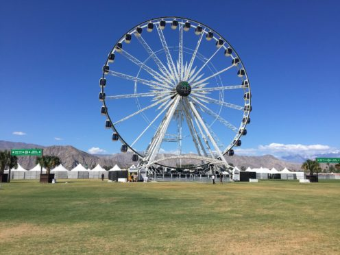 The Coachella music festival will return to the Southern California desert in April 2022, organisers have announced (PA)