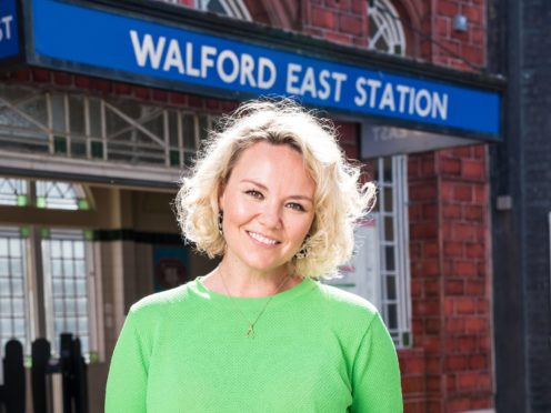 Charlie Brooks is returning to EastEnders as Janine Butcher, the BBC has confirmed (BBC/PA)