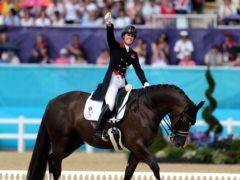 Charlotte Dujardin at the London Olympics (PA)