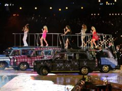 The Spice Girls perform at the Olympics (Andrew Milligan/PA)