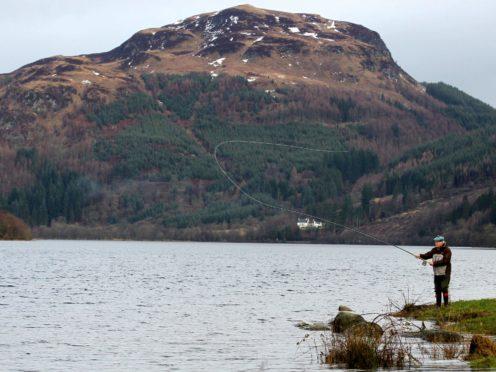 The man died in Loch Lubnaig at Callander (Andrew Milligan/PA)