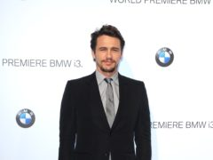 Hollywood actor James Franco has agreed to pay a 2.2 million dollar (£1.6 million) settlement after being accused of pushing female students to engage in explicit sex scenes on camera (Ian West/PA)