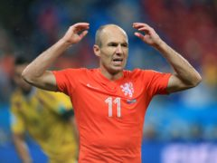 Arjen Robben has retired from professional football for a second time (Mike Egerton/PA)