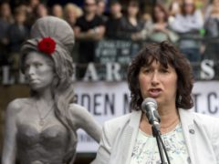 Amy Winehouse's mother, Janis Winehouse-Collins, has said she feels the presence of the late singer with her 'always' (Laura Lean/PA)