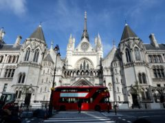 The Royal Courts of Justice (Andrew Matthews/PA)