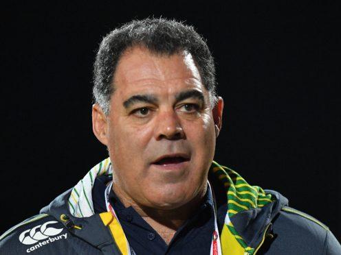 Australia head coach Mal Meninga remains a big advocate of the international game (Dave Howarth/PA)
