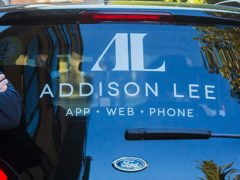 Addison Lee says screens will remain in cabs until next summer (Addison Lee/PA)