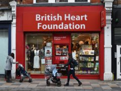 A British Heart Foundation shop (Kirsty O'Connor/PA)