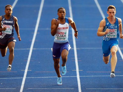 CJ Ujah has learned to relax ahead of the 100m at the Olympics. (Martin Rickett/PA)