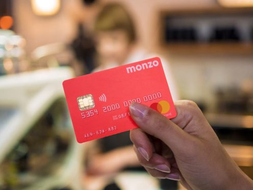 Challenger bank Monzo said its pre-tax loss expanded in the most recent financial year (Monzo/PA)
