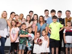 A new series of 22 Kids and Counting following Britain's biggest family has been confirmed (David Parry/PA)
