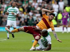 Motherwell's Liam Donnelly is set for a league comeback (Jane Barlow/PA)