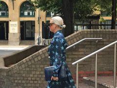 Art dealer Angela Gulbenkian, 37, leaving Southwark Crown Court in London, in 2019. She has since been remanded in custody.