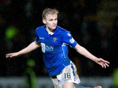Ali McCann missed a penalty for St Johnstone (Jeff Holmes/PA)