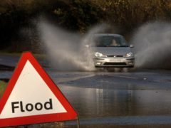 The Met Office has issued an amber alert of heavy rain across northern Scotland, with flooding expected in some areas (Ian Nicholson/PA)