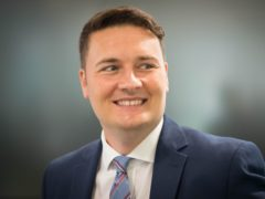 Labour's Wes Streeting said he has been declared cancer-free by doctors (Stefan Rousseau/PA)