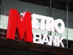 Metro Bank has increased its loan book and customer deposits (Tim Goode/PA)