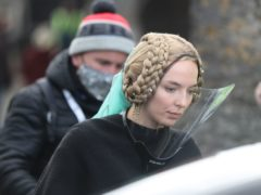 Jodie Comer refuses to be silenced in the trailer for Sir Ridley Scott's eagerly awaited historical epic The Last Duel (Niall Carson/PA)