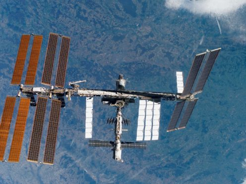 A Russian lab module is due to dock on the International Space Station (Nasa/PA)