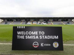 St Mirren fans now own their club (Allan Picken/PA)