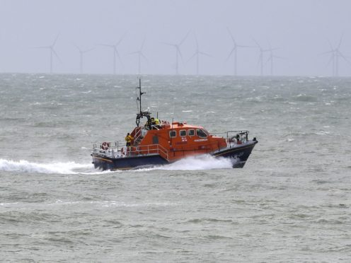 Online donations to the RNLI passed the £200,000 mark in the last 24 hours (Steve Parsons/PA)
