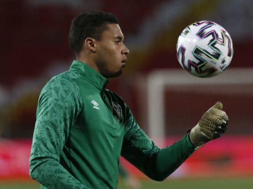 Republic of Ireland keeper Gavin Bazunu has joined Portsmouth on loan from Manchester City (Novak Djurovic/PA)