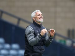 St Mirren manager Jim Goodwin looking to go all the way in cup this season (Andrew Milligan/PA)