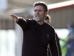 Graham Alexander's side progressed to the second round (Andrew Milligan/PA)