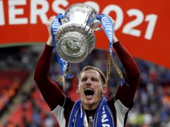Marc Albrighton helped the Foxes win the FA Cup last season (Kirsty Wigglesworth/PA)