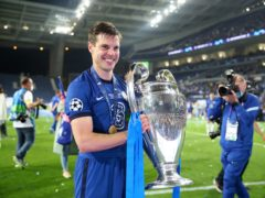 Cesar Azpilicueta captained Chelsea to European success over Manchester City in Portugal (Nick Potts/PA)