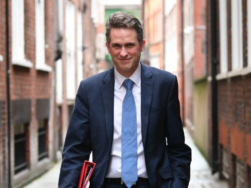 Gavin Williamson said the subject 'can bring so many benefits to young people' (Stefan Rousseau/PA)