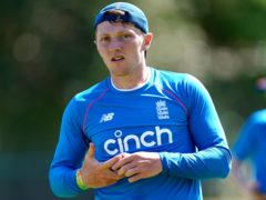 Dom Bess is ready if required during the five-match Test series against India (Mike Egerton/PA)