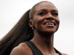 Dina Asher-Smith carries British sprint hopes in Tokyo (Martin Rickett/PA)