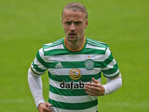 Celtic's Leigh Griffiths was booed by his own fans at Parkhead (Andrew Milligan/PA)