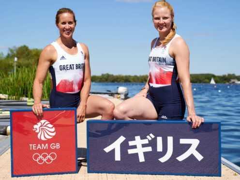Helen Glover (left) and Polly Swann are targeting more rowing gold in Tokyo (John Walton/PA)