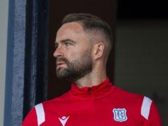 Dundee manager James McPake (PA)